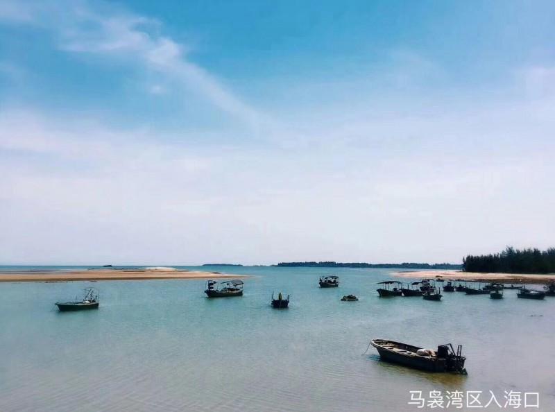 马袅湾入海口