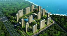 优氧园林|海南恒大御景湾均价17000元/平 建面为72.89-140㎡两房至四房