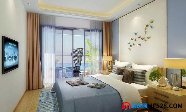 海南三亚清凤海棠长滩样板间 -卧室