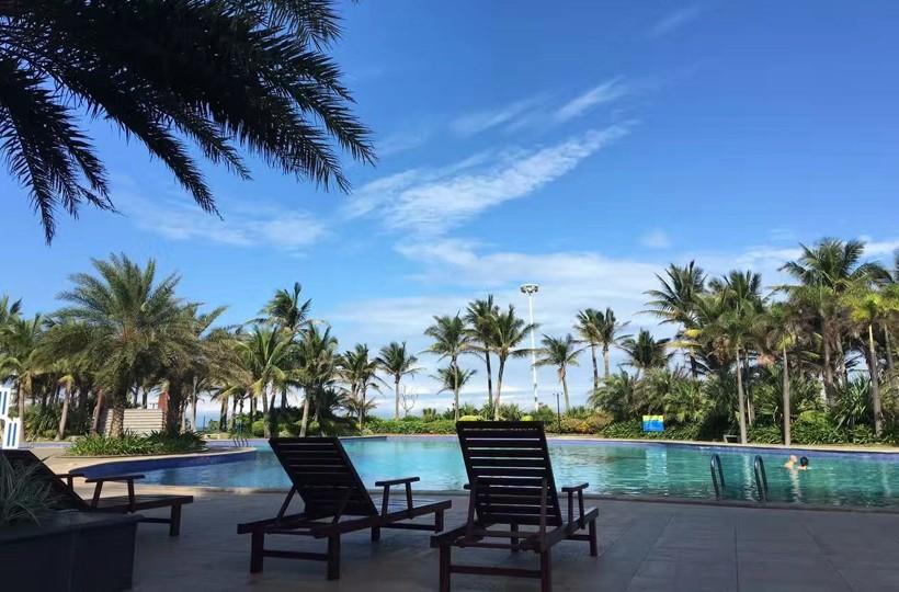 长岛蓝湾实景图-游泳池