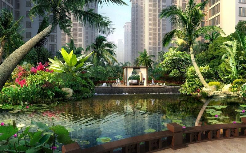海湾雨林在售价格为:14000元/平方米