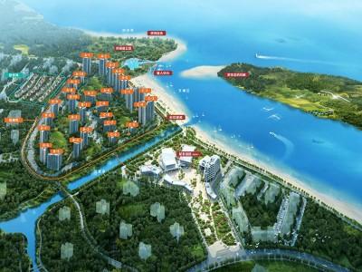 富力悦海湾均价为:9500元/平方米