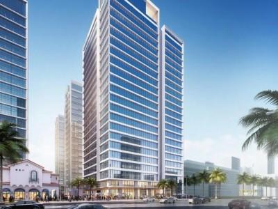 绿地领海广场均价为:18000元/平方米