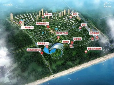 世茂怒放海作为航天城旁优质景区物业