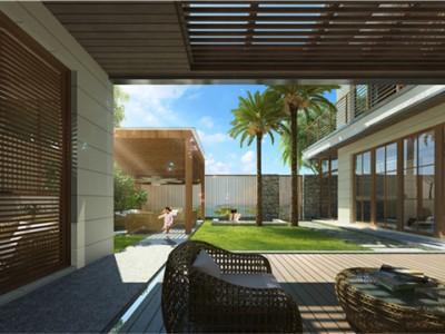 石梅春墅丨引水入园,打造自然质朴的新中式院落民居