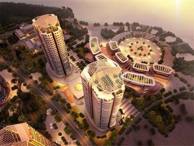 清澜半岛前期打造休闲活力湾区为目的的旅游地产项目