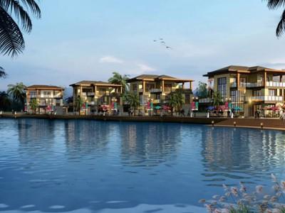 鸿洲江山,有着便利的交通和好的自然环境资源