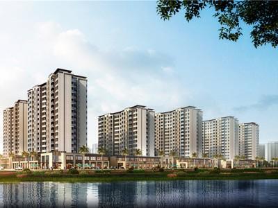绿地城江东首府,地段优越吸引大批人才、常驻人口