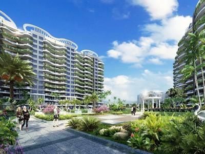 「龙栖海岸」新亚洲风格建筑,简奢华滨海度假风格
