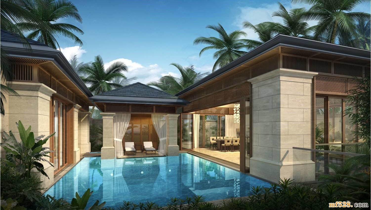 葛洲坝海棠福湾别墅 在售总价约1200万/套起
