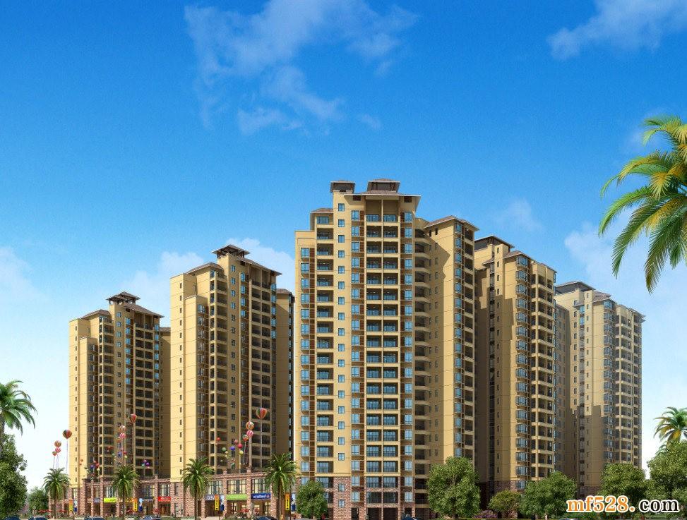 海南民生凤凰城在售户型建筑面积约58-99㎡精装美宅小户,均价9500元/