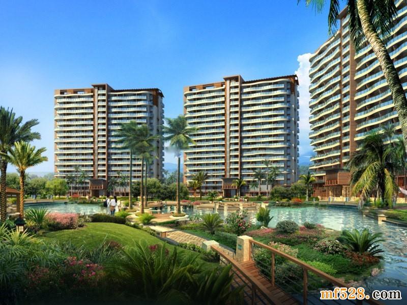 博鳌美丽熙海岸项目酒店式公寓在售均价25000元/㎡