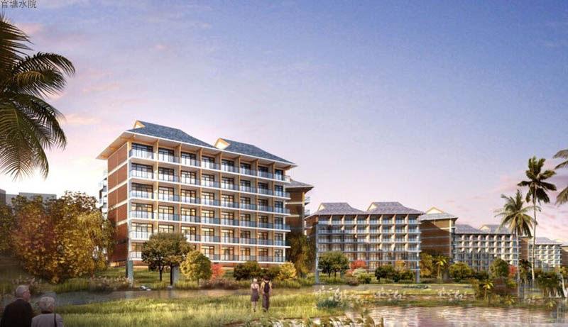 官塘水院预计2021年1月东岛别墅组团交房