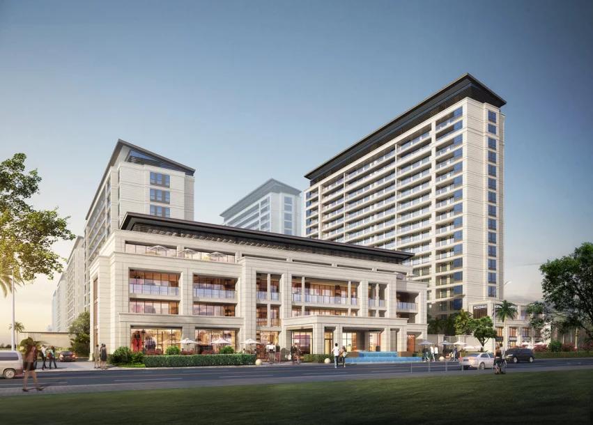 三亚蘭园新楼栋预计明年年初开盘