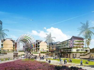 绿地悦澜湾是绿地头 个热带滨海度假产品