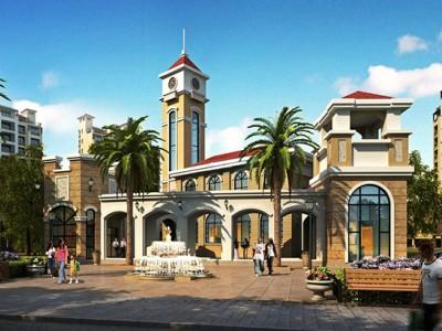 南洋印象 是由商业、住宅、别墅式商铺及相关的休闲配套组成