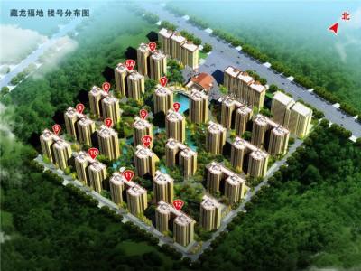 藏龙福地 大阳台的设计 拉近业主与自然的距离