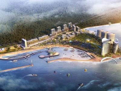 龙栖湾新半岛 整体定位为南中国商旅游憩地